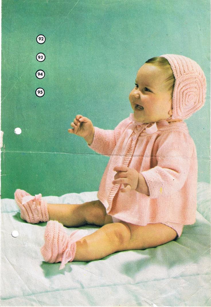 Strikk et babysett