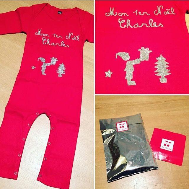 Merci @anne_et_charles : pyjama personnalisé