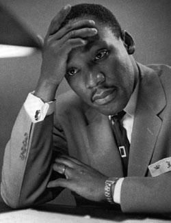 Martin Luther King, Jr. At Montgomery - Ceramic Art Tile