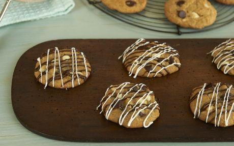 Zebra Chocolate Chip Cookies Recipe