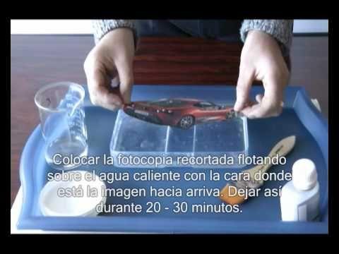 Transferir imagenes a objetos decorativos Visite nuestra web http://www.artmir.com/shop con mas técnicas y productos especiales. Visit our website http://www...