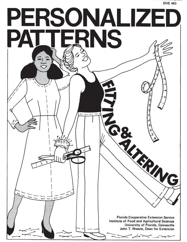Free e-book on altering patterns and fitting clothing.