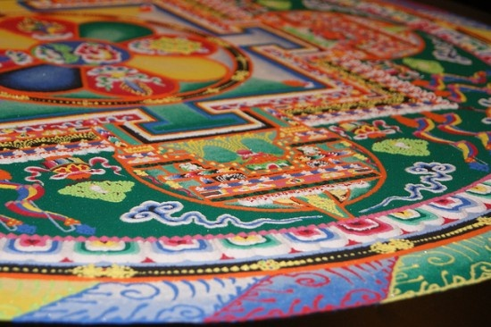 Tibetan Sand Mandalas – The Sacred Art of Painting with Colored Sand