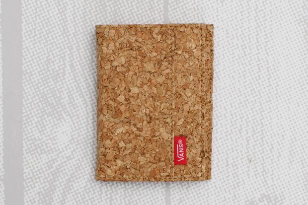 Vans Authentic Bi-fold Wallet Cork