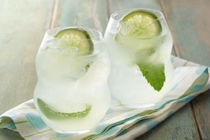 Cocktail Mojito au citron-limette