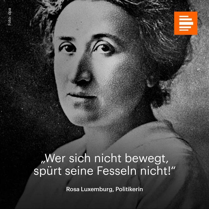 """Gefällt 773 Mal, 8 Kommentare - Deutschlandfunk Kultur (@dlfkultur) auf Instagram: """"Am 15. Januar wurde Rosa Luxemburg von rechten Freikorps ermordet. #rosaluxemburg #dlfkultur…"""""""