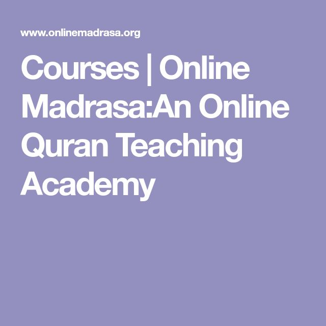 Courses   Online Madrasa:An Online Quran Teaching Academy