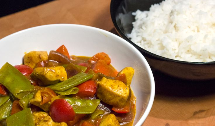 Snelle Indiase curry