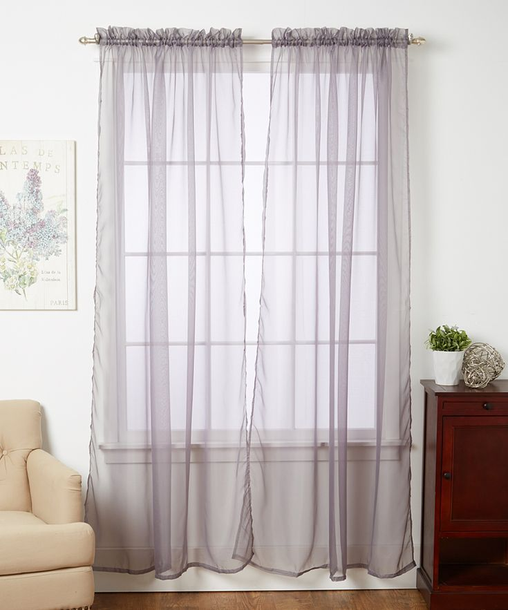 Curtain Ideas With Voile: 17 Best Ideas About Voile Curtains On Pinterest