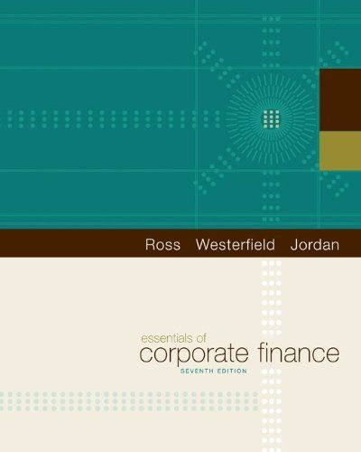 13 best finance books images on pinterest finance books books essentials of corporate finance the mcgraw hillirwin series in finance insurance and real estatestephen a ross randolph w westerfield bradford d fandeluxe