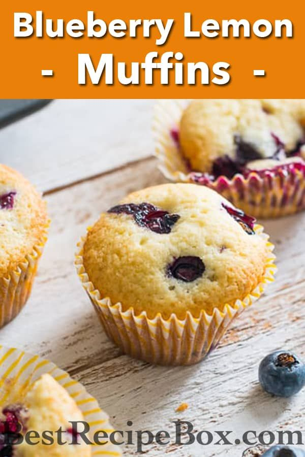 Blueberry Lemon Buttermilk Muffins Are So Good In 2020 Lemon Blueberry Buttermilk Muffins Recipes