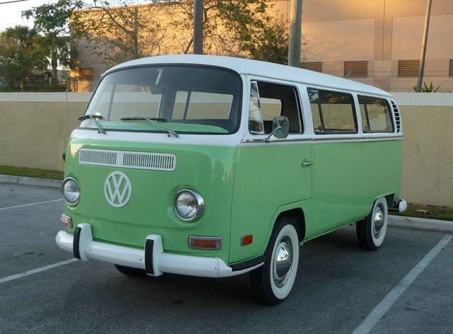 1969 Volkswagen Bus/Vanagon  Would love to own one sometime or travel around europe in one! (this color is so me)