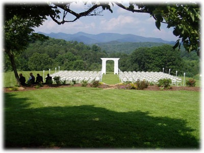 They Do Weddings What A View Highland Falls Cabin Georgia Wedding Venuespark Weddingsdestination