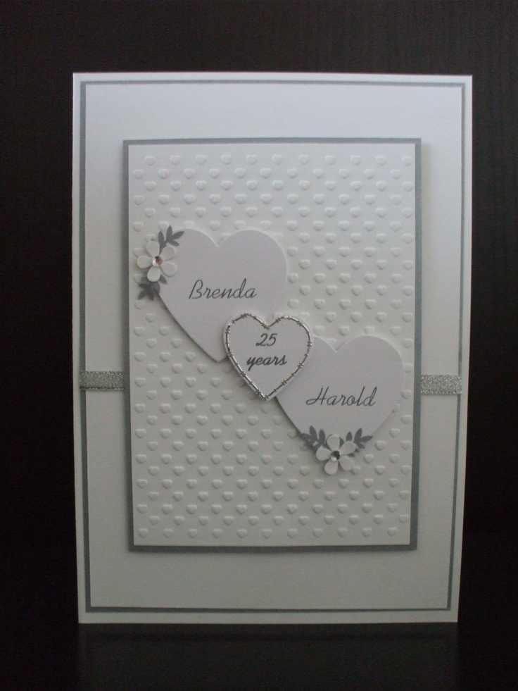 silver wedding card cards pinterest wedding card