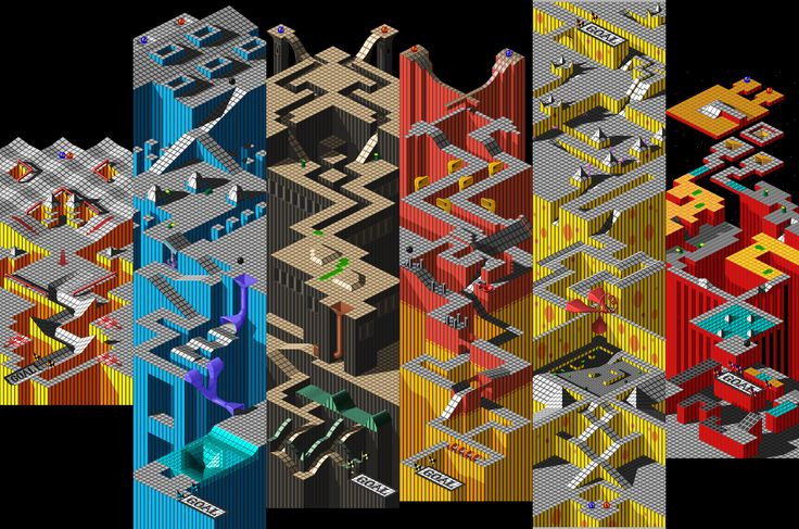 Marble Madness. . .  all the Marble Madness. . .