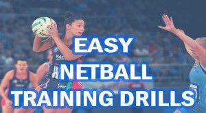 easy netball training drills