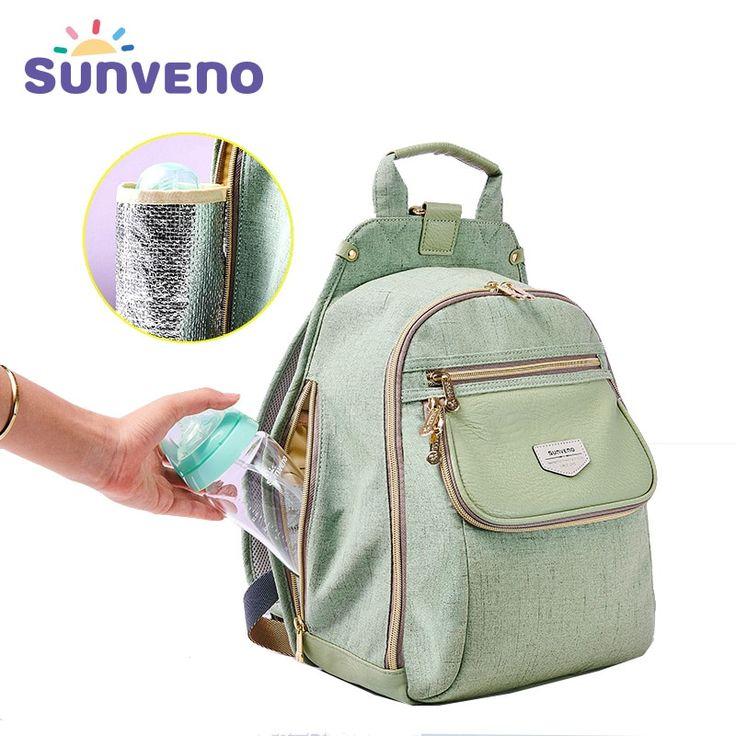 New SUNVENO <b>Diaper Bag</b> Fashion <b>Baby Bag</b> Backpack Baby Stuff ...