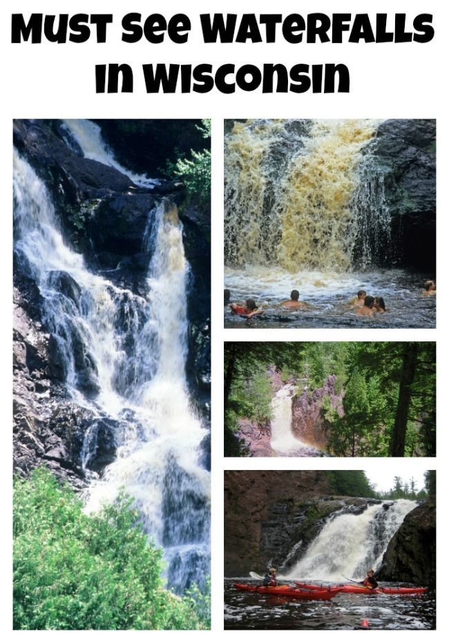 Must See Waterfalls in Wisconsin