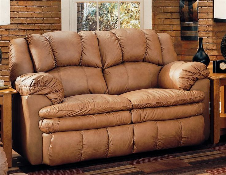 Best Online Sofa Store Part - 49: Cameron Double Reclining Loveseat By Lane - Riverview Galleries - Reclining  Love Seat Furniture Store NC