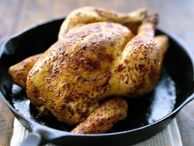 Garlic roasted chicken | chicken | Pinterest