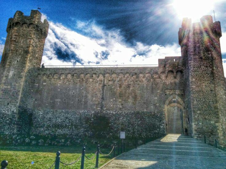 Tour in #toscana #fortezza di #Montalcino