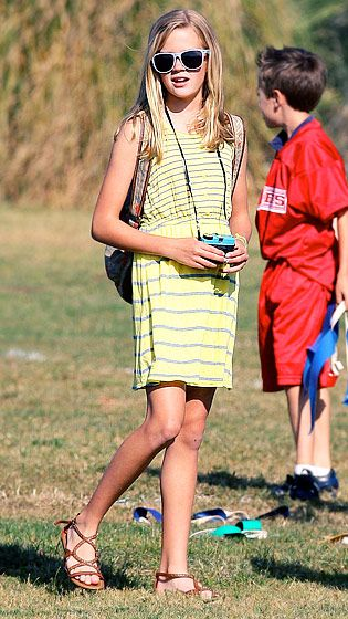 Ava Witherspoon. Reese Witherspoon's beautiful daughter with ex Ryan Phillippe