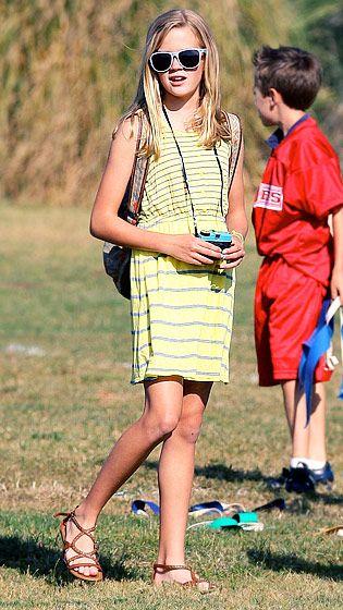 Mais modernos Crianças de Hollywood: Ava Witherspoon