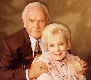 General Hospital stars John Ingle and Anna Lee