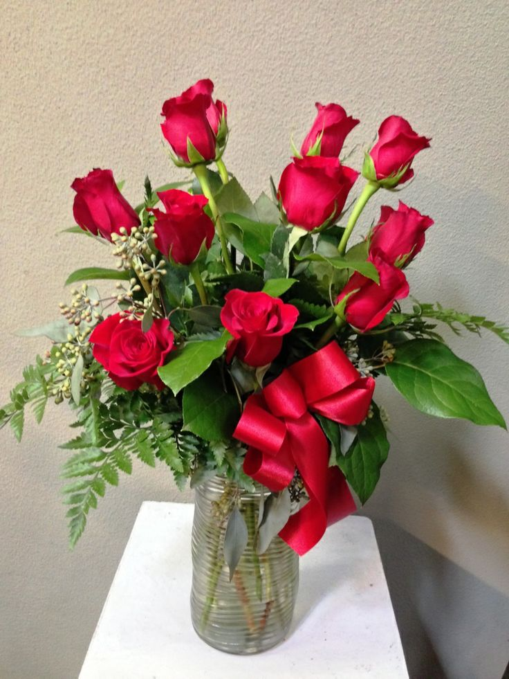 17 Best Images About Valentines Day Flower Arrangements On