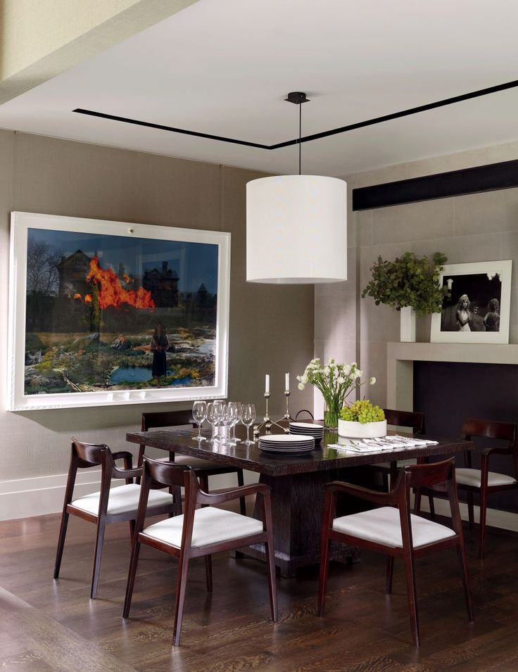 Contemporary dining room by mcalpine booth ferrier for Dining table nashville tn