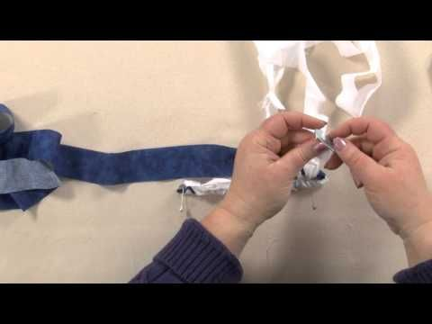 If You Can Tie A Knot Make Rag Rug Video