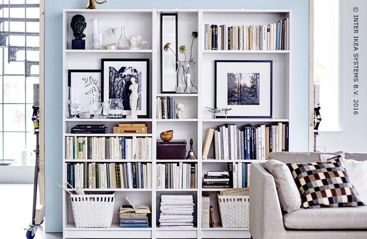 Lorque tout s'accord pour un rangement un harmonieux et estéhtique. Série KALLAX  #IKEABE #idéeIKEA   When everything forms a harmonious whole. Series KALLAX #IKEABE #IKEAidea