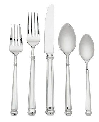 Abington Square 5-Piece Place Setting  sc 1 st  Pinterest & 651 best China || Elegant Christmas Dinnerware Glassware Flatware ...