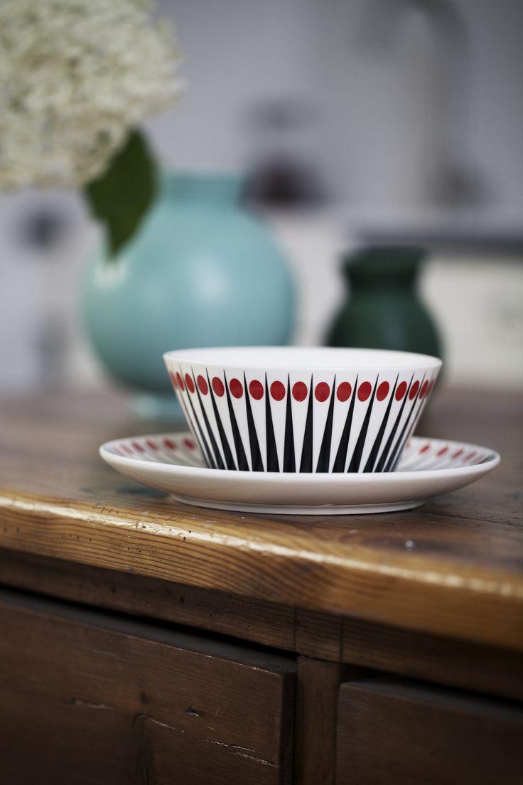 Bowl & Plate - Amanda - Tomato