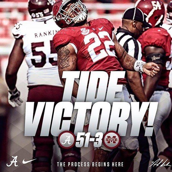 51 - 3. SEC West won! #Alabama #RollTide #Bama #BuiltByBama #RTR #CrimsonTide  #RammerJammer #MSSTvsBAMA