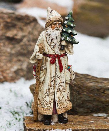 Another great find on #zulily! Old World Santa & Tree Figurine #zulilyfinds