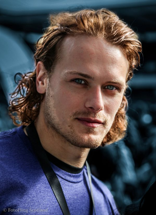 Sam Heughan Edinburgh Kilt Walk 2014