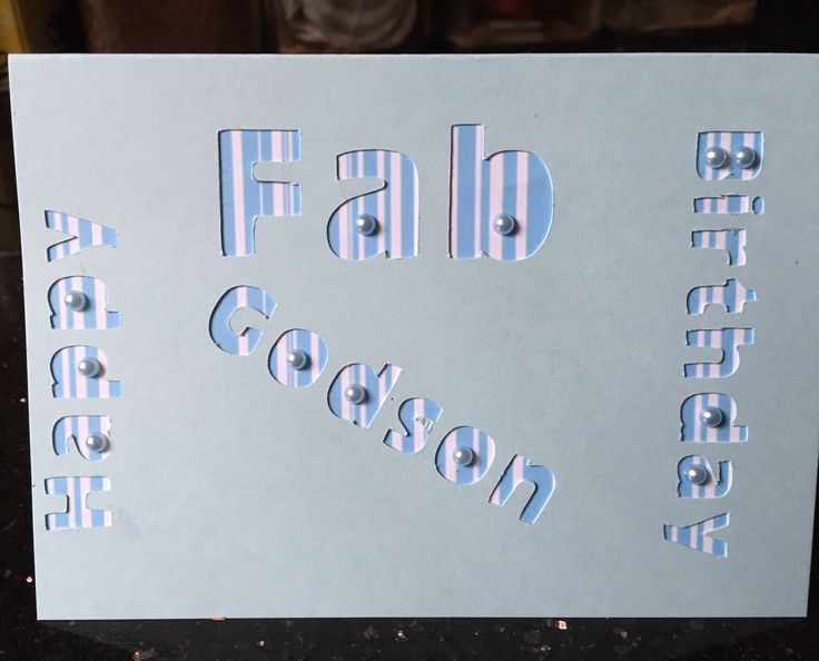 134 best all my card projects images on pinterest blue prints fab godson birthday scan n cut bookmarktalkfo Images