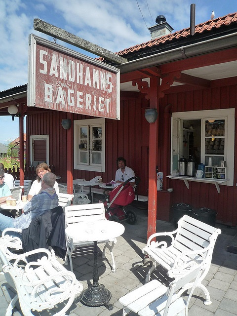 sandhamn bakery cafe sweden