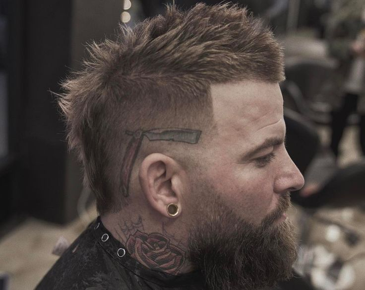Just like all the other men's haircuts, we are seeing different ways to wear the classic mohawk in 2017. These mohawk fade haircuts feature new ways to wear both the sides and the mohawk itself.    The