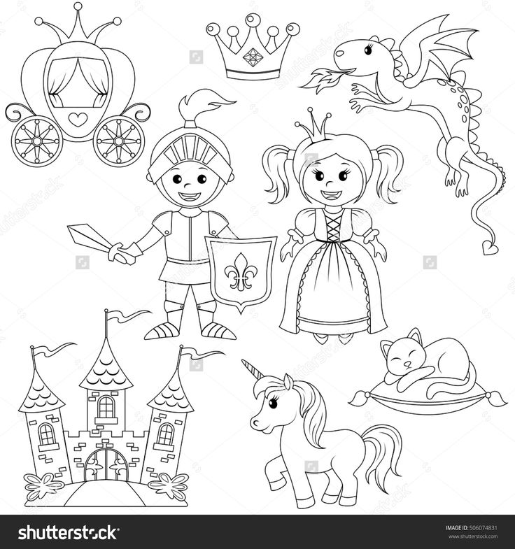 14+ Princess unicorn castle coloring page info