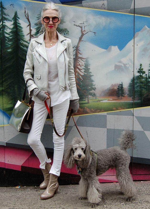 Linda Rodin- Stylist, model, former Harper's Bazaar Fashion Editor