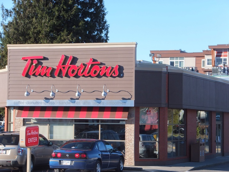 the newly renovated tim hortons on yale road west in. Black Bedroom Furniture Sets. Home Design Ideas