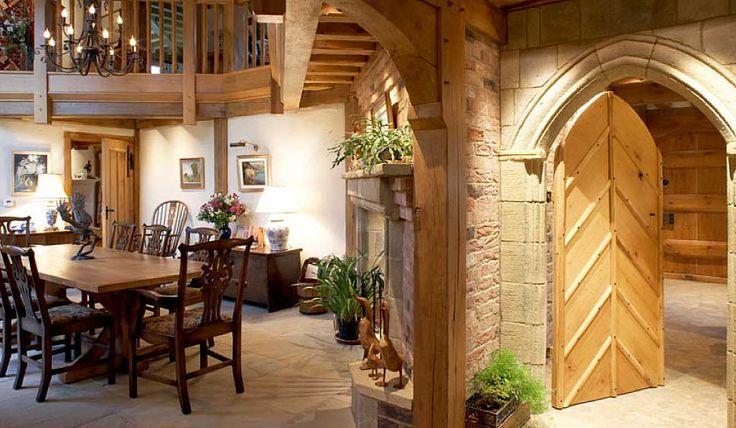 Oak Country home interior