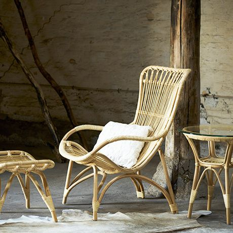 Monet Chair in Rattan by Sika Design from Denmark #MONOQI