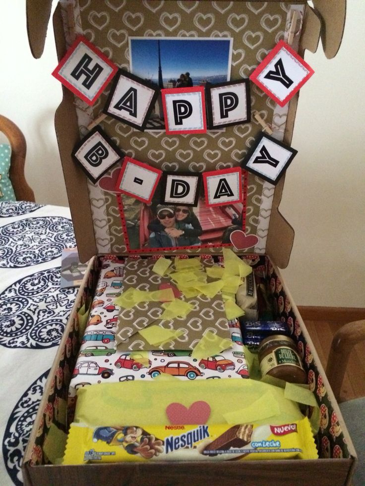 Surprise Birthday Ideas For Long Distance Relationship Care Package Happy