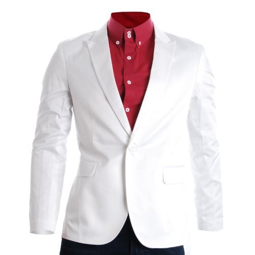 FLATSEVEN Mens Slim Fit Stylish Peaked Lapel Blazer Jacket (BJ200) White, XL FLATSEVEN,http://www.amazon.com/gp/product/B009P5R6FS?ie=UTF8=213733=393177=B009P5R6FS=shr=sportw-20