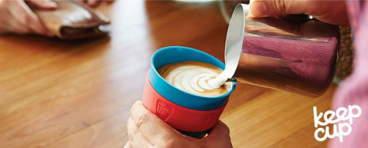 KeepCup...ideal para bebidas quentes!