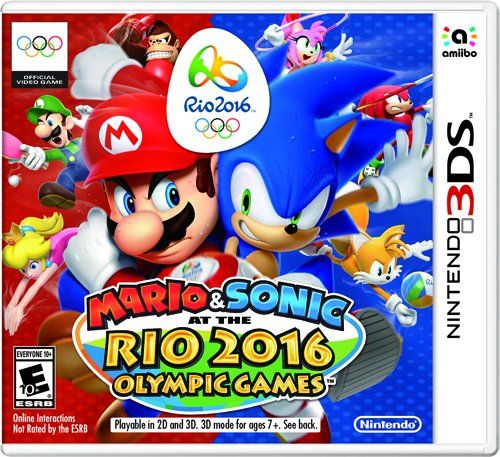 Mario & Sonic at the Rio 2016 Olympics