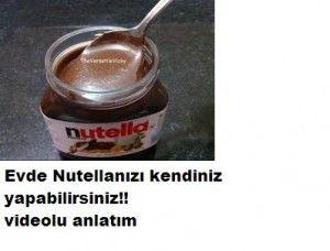 Evde Nutella yapımı